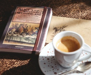 alice, vintage, and book image