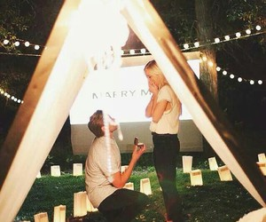 marry me, proposal idea, and wedding image