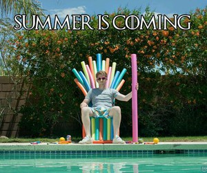 summer, game of thrones, and funny image