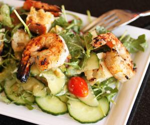 food and salad image