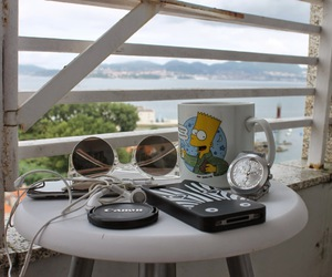 bart simpson, canon, and iphone image
