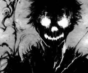 anime, black, and demon image