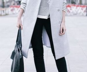 clothes, street, and coat image