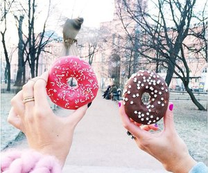 chocolate and donuts image