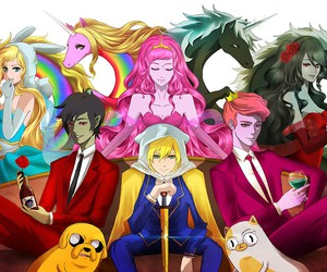adventure time, anime, and marceline image