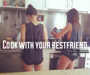 best friend, cook, and nice image
