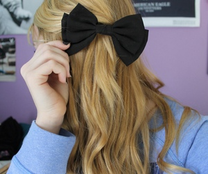 quality, tumblr, and bow image