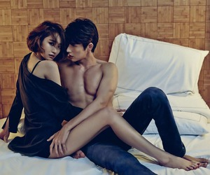 clavin klein, korean actor, and go joon hee image