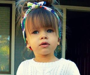 girl, baby, and hair image