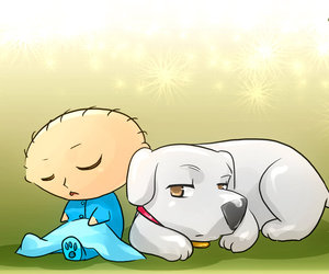 brian, family guy, and fan art image