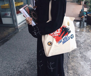 bags, black, and blouse image