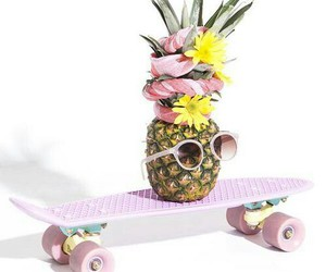 cool, fruit, and pink image