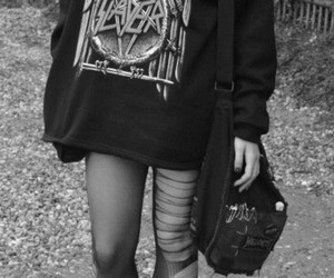 slayer, grunge, and outfit image