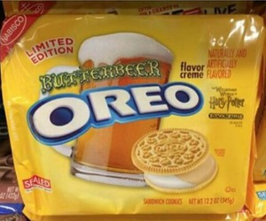 harry potter, oreo, and butterbeer image