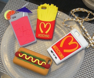 iphone case and food image