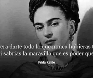 frida kahlo, Frida, and frases image