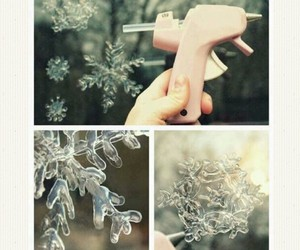 christmas, snowflakes, and crafts image