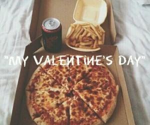alone, food, and boyfriend image