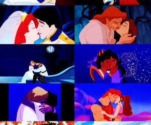 kiss, disney, and love image