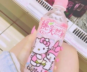 pink, hello kitty, and kawaii image