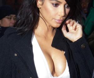 kim kardashian, new york, and love image