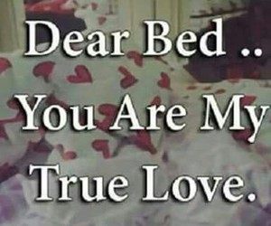 bed, sleepy, and true_love image