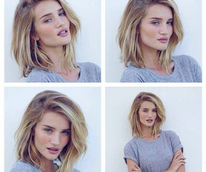 model, hair, and rosie huntington whiteley image