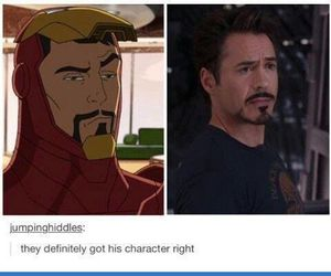 Marvel, ironman, and Avengers image