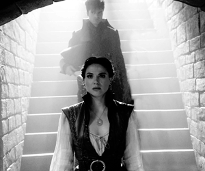 once upon a time, regina mills, and ouat image