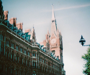 london, clock, and photography image