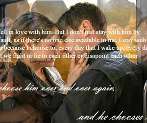 divergent and love image