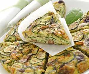 eggs, food, and zucchini image