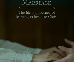 god, jesus, and marriage image