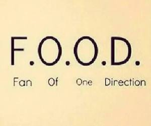 food, 1d, and one direction image