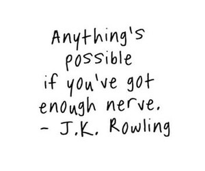 quotes, jk rowling, and possible image