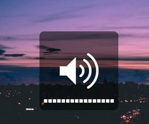 music, volume, and song image
