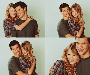 Taylor Swift, couple, and Taylor Lautner image
