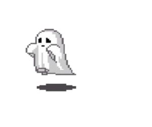 ghost, overlay, and transparent image
