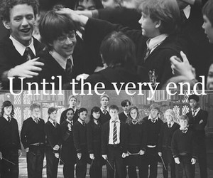 harry potter, until the very end, and always image