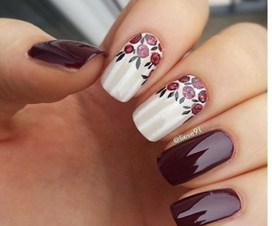 beauty, floral, and floral print image