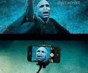 funny, harry potter, and phone image