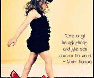 shoes, quote, and Marilyn Monroe image