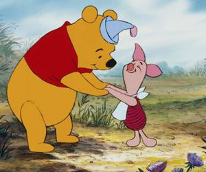 disney, piglet, and winnie the pooh image