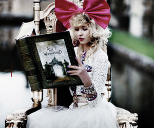 alice, books, and dress image