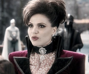once upon a time, evil queen, and ouat image