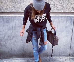 outfit, fashion, and love image
