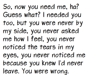 broken, quote, and tears image