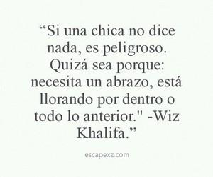 girl, wiz khalifa, and frases image