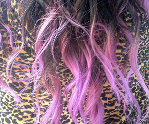 awesome, purple hair, and hair image