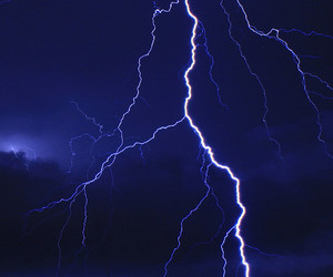 grunge, storm, and blue image
